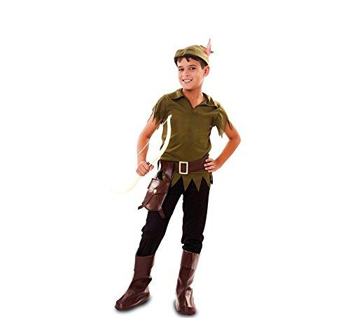 Kostüm Kapuze Robin Kind - Fyasa 706538-t02Robin Hood Kostüm, Mittel