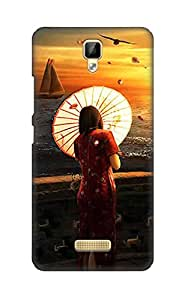 ZAPCASE Printed Back Cover for Gionee P7