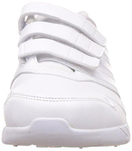 adidas Altarun Cf K, Scarpe da Ginnastica Unisex – Bambini Bianco ( Ftwbla/Grimed/Ftwbla)