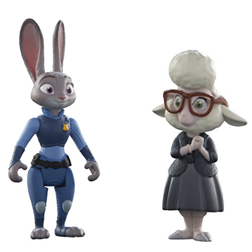 Disney - Zootropolis - Agente Judy Hopps & May Bellwether - Confezione 2 Personaggi