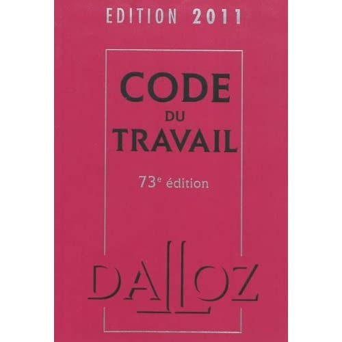 Code du travail 2011