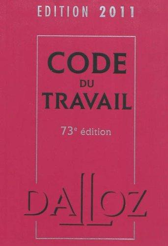 code-du-travail-2011
