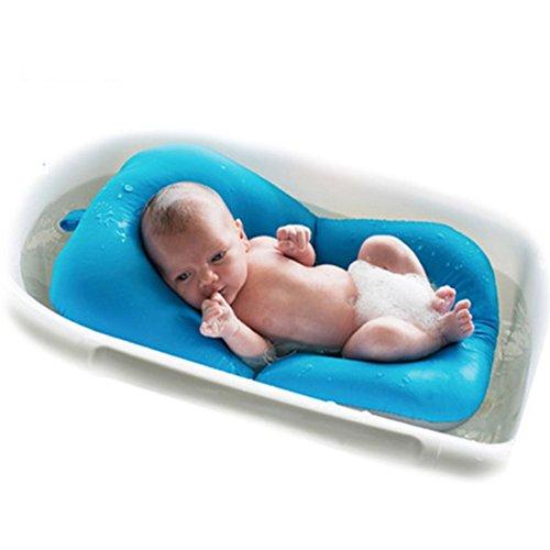 Bebé Bañera Bebé Baño Pad, moonvvin flotante suave bebé almohada de baño y tumbona recién nacido para Bañera cojín