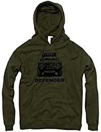 Modifiées pour Land Rover Defender-Veste à capuche