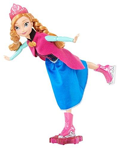 Frozen - Muñeca patinadora, Anna (Mattel)