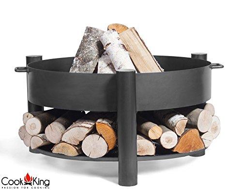 Cook King BBQ Grill Feuerschale Feuerkorb Grillschale Montana 60cm ***NEU*** - Vertiefte Schale