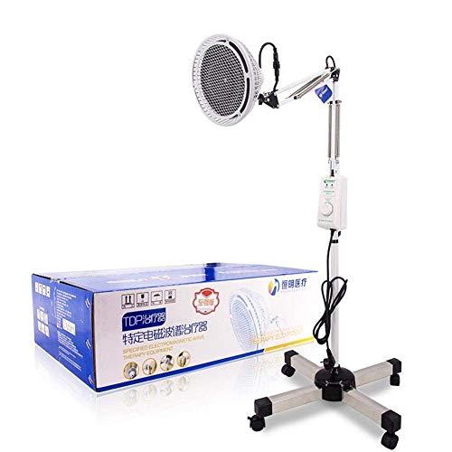 DULAMP 230W TDP Weit Hitze Lampe Mineral Therapie Physiotherapie Licht 200 mm Heizung Teller zum Schmerzen Linderung Arthritis Entzündung Wund Muskeln -