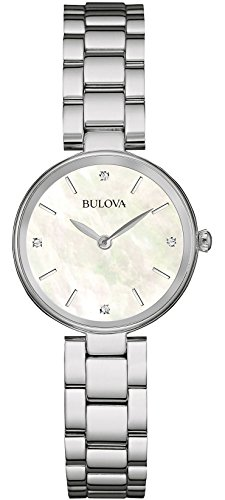 bulova-ladies-womens-designer-diamond-watch-bracelet-stainless-steel-white-wrist-watch-96s159