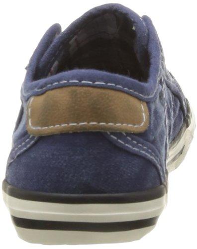 Mustang 5803405, Baskets mode mixte enfant Bleu (841 Jeansblau)