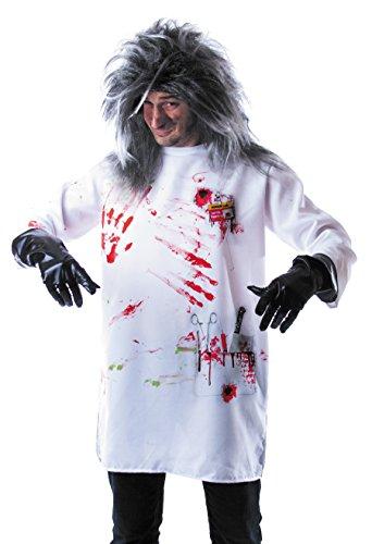 Party Pro 86563Kostüm verrückten Wissenschaftlers, Größe M (Wissenschaftler Kostüm Halloween Verrückter)