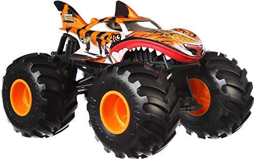 Hot Wheels MonsterTruck1:24 Tiger Shark Vehicle