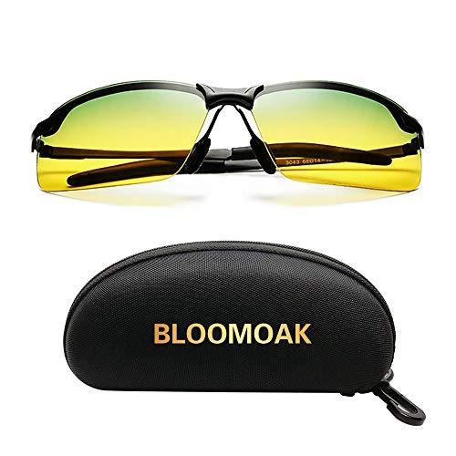 Occhiali da guida, occhiali di sicurezza polarizzati per la visione diurna e notturna   Guida   Riduzione del rischio   Anti-riflesso   Protezione per gli occhi UV400