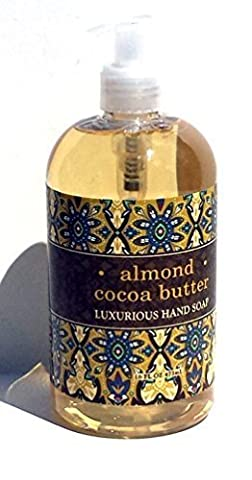 Almond Cocoa Butter Luxurious Shea Butter Hand Soap by Greenwich Bay Trading Co. 16 oz by Greenwich Bay Trading Company