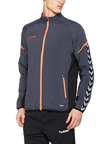 hummel Herren Auth Charge Micro Zip Jacket Jacke, Ombre Blue/Nasturtium, S