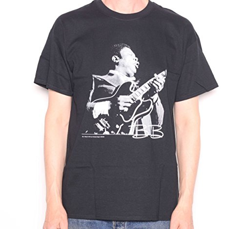 BB King T shirt - Signature Portrait 100% Official USA Import