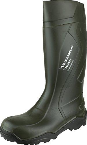 Dunlop C762241 S5 Purofort + Unisex Adulto Stivali Di Sicurezza Verde
