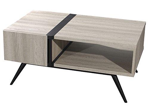 Habitat et Jardin - Table Basse Perla - 100 x 59 x 41 cm -