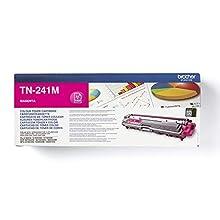 Brother TN-241M Toner Cartridge, Magenta, Single Pack, Standard Yield, includes 1 x Toner Cartridge, Brother Genuine Supplies