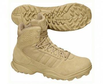 adidas Herren GSG-9.3 Trekking-& Wanderstiefel, Braun (Clear Sand/Clear Sand/Clear Sand), 44 2/3 EU (Full-grain-sand)