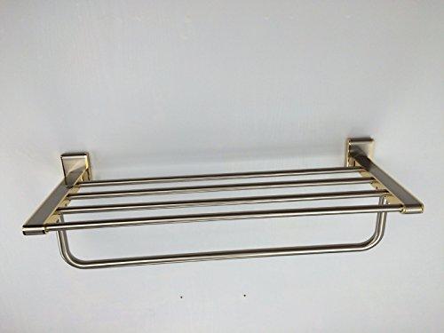 KHSKX Portasalviette portasalviette bronzo double-wide Attività del filo d'oro multifunzione p di piegatura titolare
