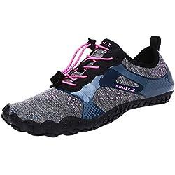 Chaussures d'eau Unisexes À Séchage RapidePool Beach Swim Drawstring Shoes Chaussures de Plongée Creek