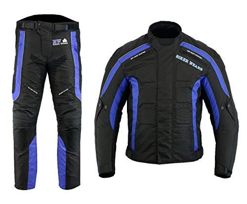 Tuta-impermeabile-da-uomo-moto-motocicletta-motociclista-pantaloni-e-giacca-con-rimovibile-Armour