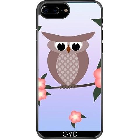 Custodia in silicone per Iphone 7/7S Plus - Uccello Gufo