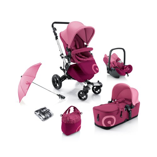 Concord Kinderwagenset Mobility-Set Neo Air-Scout,  Kollektion 2013 Pink