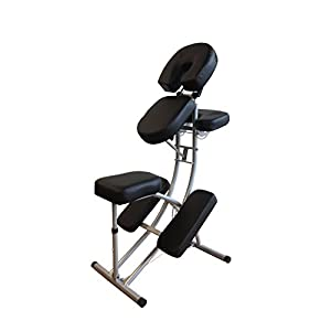 H-ROOT Tragbare Massage Stuhl Leicht große Aluminiumrahmen mit Kostenlose Tragetasche