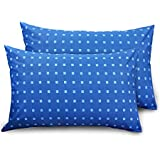 Shop by room 100 % cotton pillow cover set of 2 - Size 18 x 27