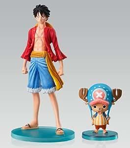 One Piece Super Styling EX Gigantic Figuren: Ruffy & Chopper 13 cm + 5 cm