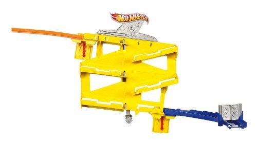 Hot Wheels Playsets para coches de juguete, accesorio wall tracks, drop down (Mattel X9318)
