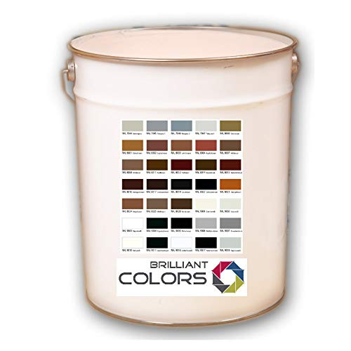 farbe fuer pflastersteine 5 Liter für 30 qm nach RAL bestellbar RAL 7044-9018 / Betonfarbe Bodenfarbe Beschichtung Fußbodenfarbe Hallenfarbe Bodenbeschichtung TÜV geprüft und Bauamtlich zugelassen