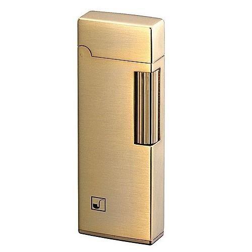 Pfeifen-Feuerzeug Sarome »PSD 9-01« gold satiniert