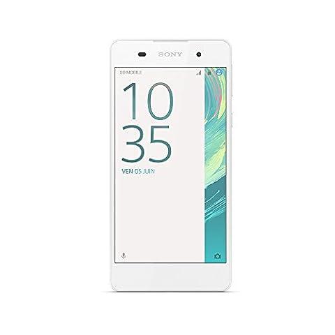 Sony Xperia E5 Smartphone, kein SIM-Lock, 4G, Display 5 Zoll,