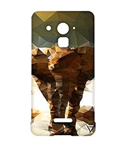 Vogueshell Elephant Printed Symmetry PRO Series Hard Back Case for Coolpad Note 3 Plus