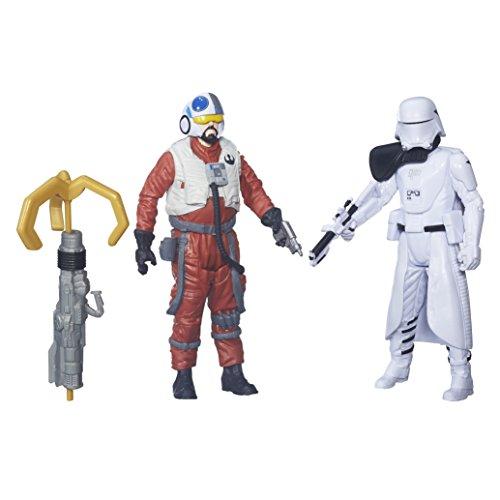 """Star Wars Figuren Sidon Ithano und Quiggold aus """" Erwachen der Macht"""