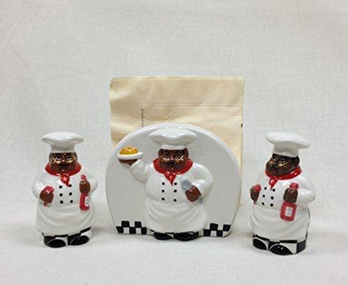 salt-pepper-w-napkin-holder-black-waiter-chef-aunt-jemima-by-ack