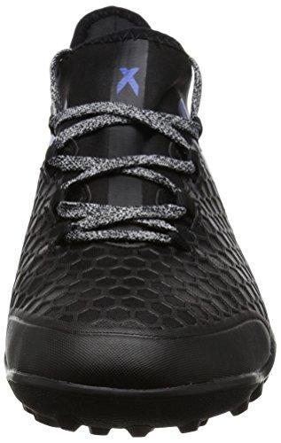 adidas X Tango 16.2 Tf, Scarpe da Calcio Uomo Nero (Core Black/blue/ftw White)