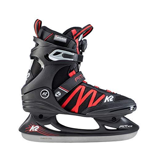 K2 Skates Herren F.I.T. Ice BOA Skates, Schwarz (Black), 46 EU -