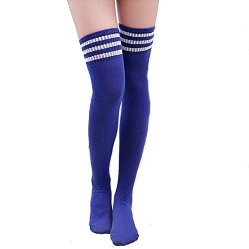 butterme-women-girls-over-the-knee-extra-long-soccer-rugby-socks-thigh-high-stockings-sports-tights-
