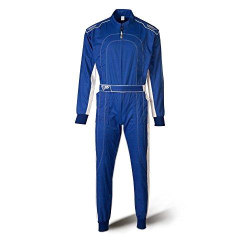 Speed Kartoverall Blau Weiß, Größe:L - Speed Overall