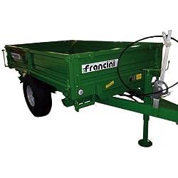 Francini F 30 - Remorque pour tracteur - Charge: 2200 kg