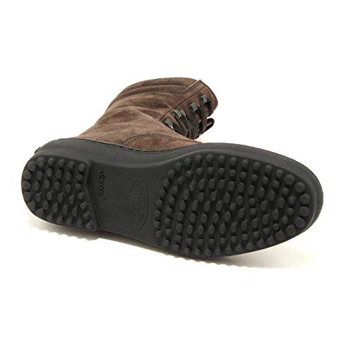 9476 stivali donna testa moro TOD'S scarpe scarpa stivale shoes boots women testa di moro