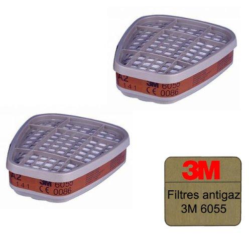 Filtres antigaz 3M 6055 A2 x 2