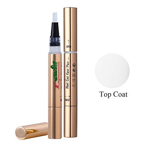 Smalti per unghie in gel penna smalto gel,Top coat, color UV LED Soak Off Gel,Lagunamoon TO-GO gel polish
