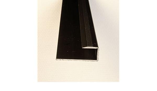 Einfassprofil Abschlussleiste f/ür B/öden Gold eloxiert 1000 x 9 mm
