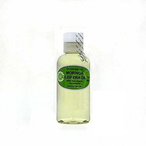 MORINGA OLEIFERA OIL BY DR.ADORABLE 100% PURE ORGANIC COLD PRESSED 4 oz