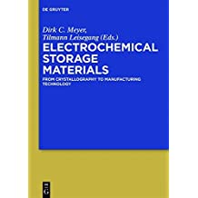 Electrochemical Storage Materials: From Crystallography to Manufacturing Technology