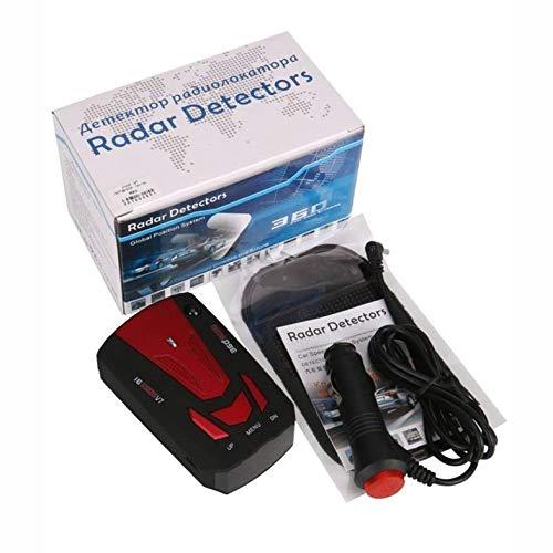 ghfcffdghrdshdfh V7 DC12V 16 Band 360 Auto-Anti-Polizei-GPS-Kamera-Laser-Radar-Detektor-Stimme Alarm